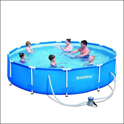 Bestway Steel Pro 12ft x 30in Frame Pool Set review