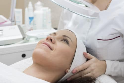 dermaplaning skincare treatment