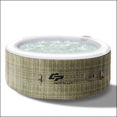 Goplus Outdoor Spa review