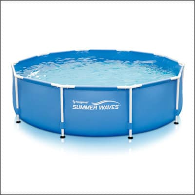 Summer Waves10ft x 30in Metal Frame Pool review