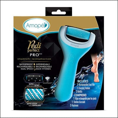 Amope Pedi Perfect Wet & Dry Foot File review