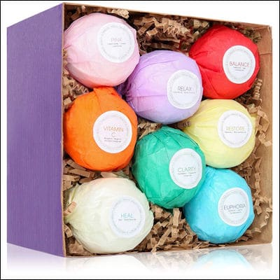 HanZá 8 Bath Bombs review