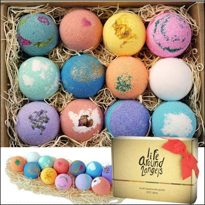LifeAround2Angels Bath Bombs review