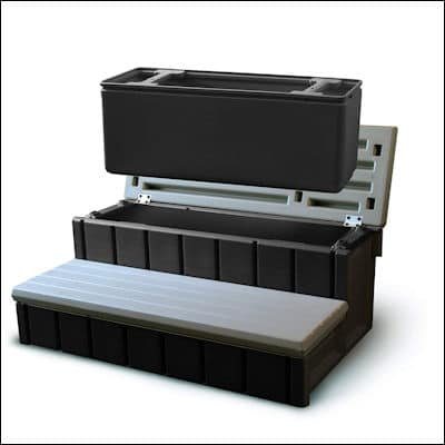 Confer Plastics Spa Step with Storage review
