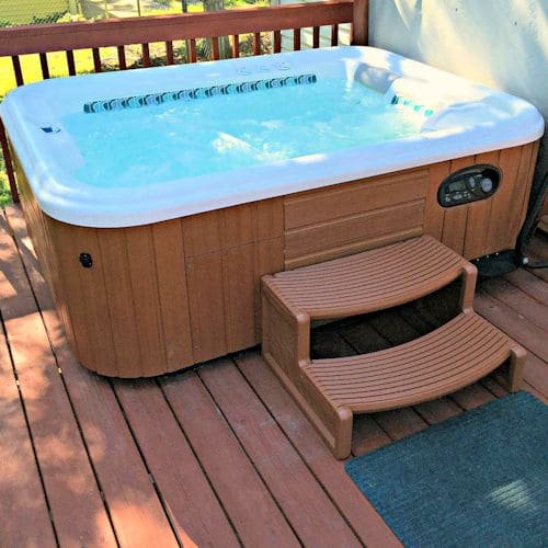 hot tub step reviews